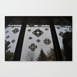 Homemade Snowflakes Canvas Print