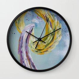 Angel of Joy & Happiness Wall Clock