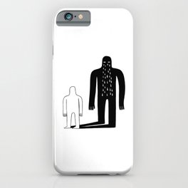 Shadow iPhone Case