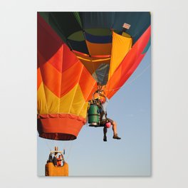 Up, Up. and Away! Canvas Print