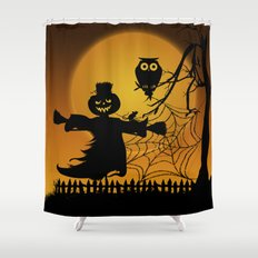 Spooky Halloween 5 Shower Curtain