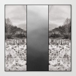 3 Sides of Winter Canvas Print