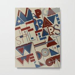 America the Brave Metal Print
