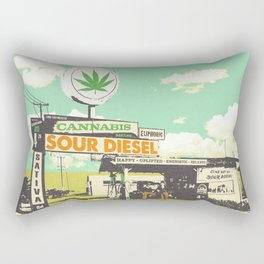 SOUR DIESEL Rectangular Pillow