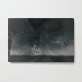 Alien Apocalypse Metal Print