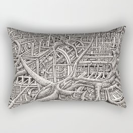 Pipescape, by Brian Benson Rectangular Pillow