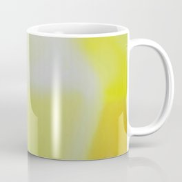Lab Abstract Yellow Coffee Mug