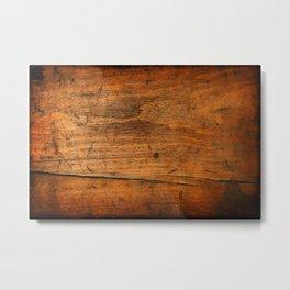 Wood Texture 340 Metal Print