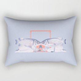 Kissing fish Rectangular Pillow