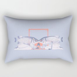 Kissing fish Rectangular Pillow