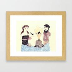 Giving Framed Art Print