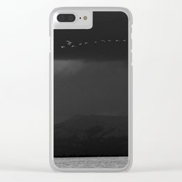 Storm Chasers Clear iPhone Case
