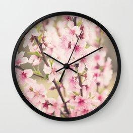 Pink Dreams Wall Clock