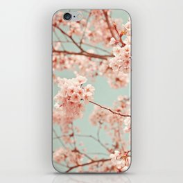 blossoms all over iPhone Skin