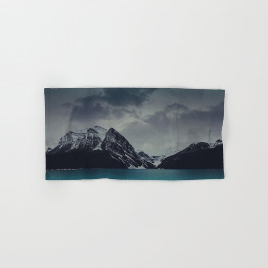 Lake Louise Winter Landscape Hand & Bath Towel