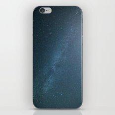 Milky Way Blue iPhone & iPod Skin