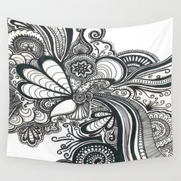 Doodle 1 Wall Tapestry