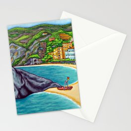 Colours of Monterosso Stationery Cards