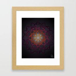 Desert Blossom Framed Art Print