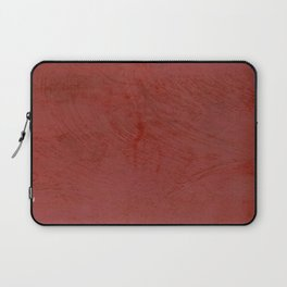 Tuscan Red Stucco - Rustic Glam Laptop Sleeve