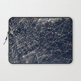 Silver drops Laptop Sleeve