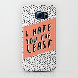 I hate you the least iPhone Case