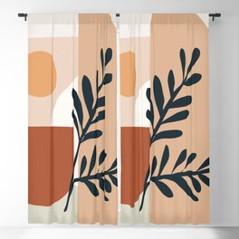 Geometric Shapes Blackout Curtain