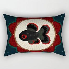 Butterfly goldfish Rectangular Pillow