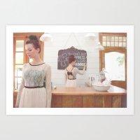 "Hoiden S/S 2013 ""Chalkboard"" Art Print"