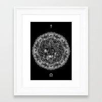 perfume Framed Art Prints featuring Perfume by Sircasm