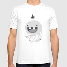 King Lip of the Squiggles MEDIUM Mens Fitted Tee White