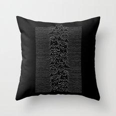 Joy Division Unknown Pleasures Throw Pillow