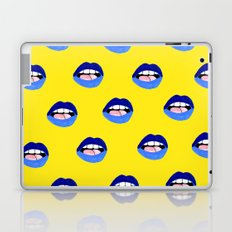 Blue Lips Laptop & iPad Skin