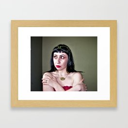 Call me Cleo Framed Art Print