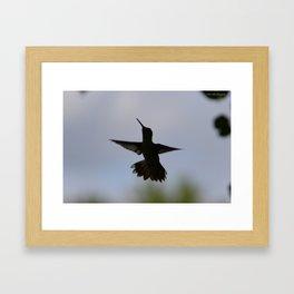 Silouette Framed Art Print