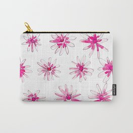 Pink Starbursts Carry-All Pouch
