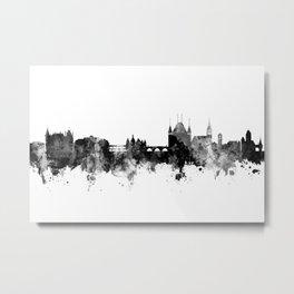 Thun Switzerland Skyline Metal Print