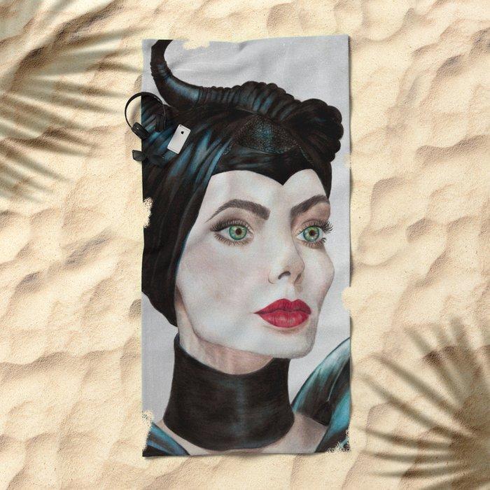 Lady M. Beach Towel