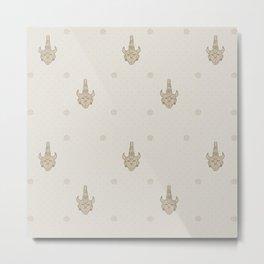 samulet pattern Metal Print
