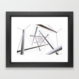Infinite Geometry Framed Art Print