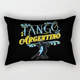 Tango, Bachata, Cuba, Rectangular Pillow