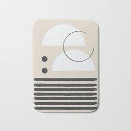 Abstract Modern Art Bath Mat