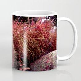 Alien landscape orange autumn surrealist pound Coffee Mug