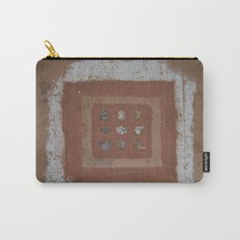 Stones and Sawdust Carry-All Pouch