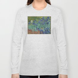 Vincent van Gogh - Irises Long Sleeve T-shirt