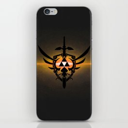 ZELDA TRIFORCE iPhone Skin