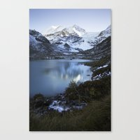 switzerland Canvas Prints featuring Switzerland by Laura Killian