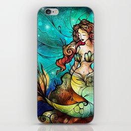 The Serene Siren iPhone Skin