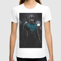 nightwing T-shirts featuring Nightwing 02 by Yvan Quinet