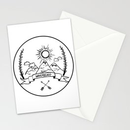 Mountain Wanderlust Stationery Cards